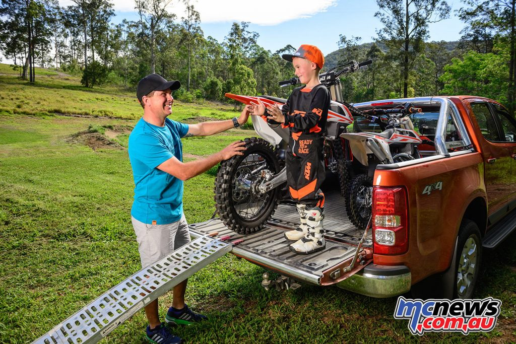 KTM's 50 SX Mini - the perfect place to start