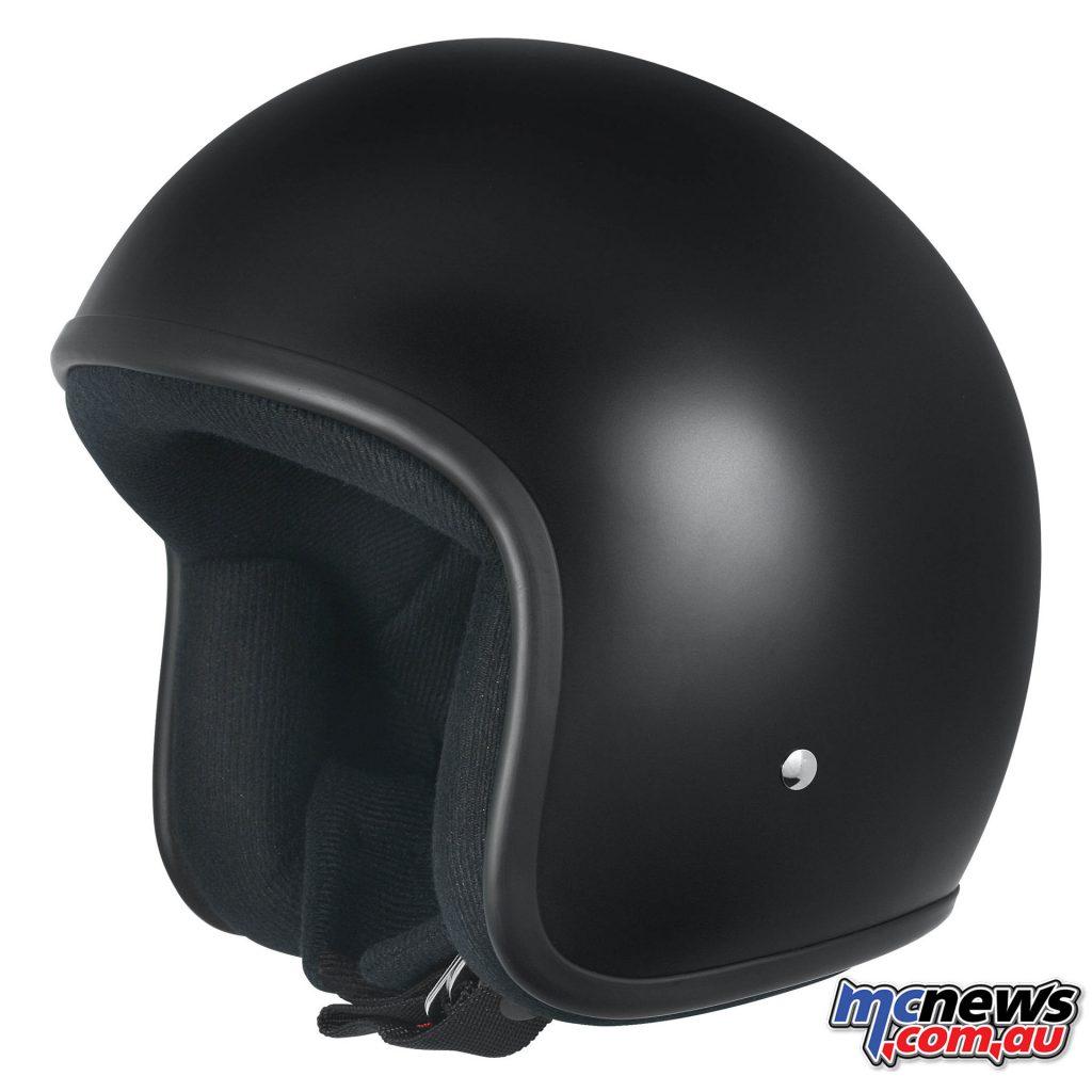 M2R 225 Classic Helmet, Semi-Flat Black