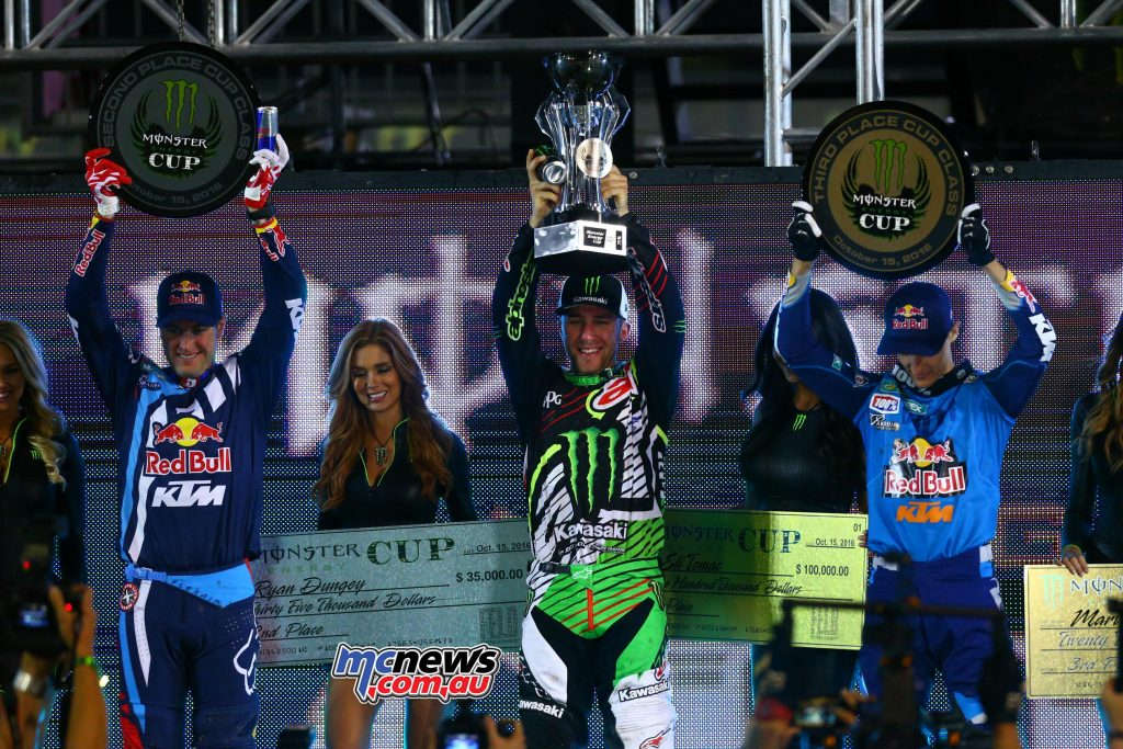2016 Monster Energy Cup - Image by Hoppenworld - Eli Tomac wins