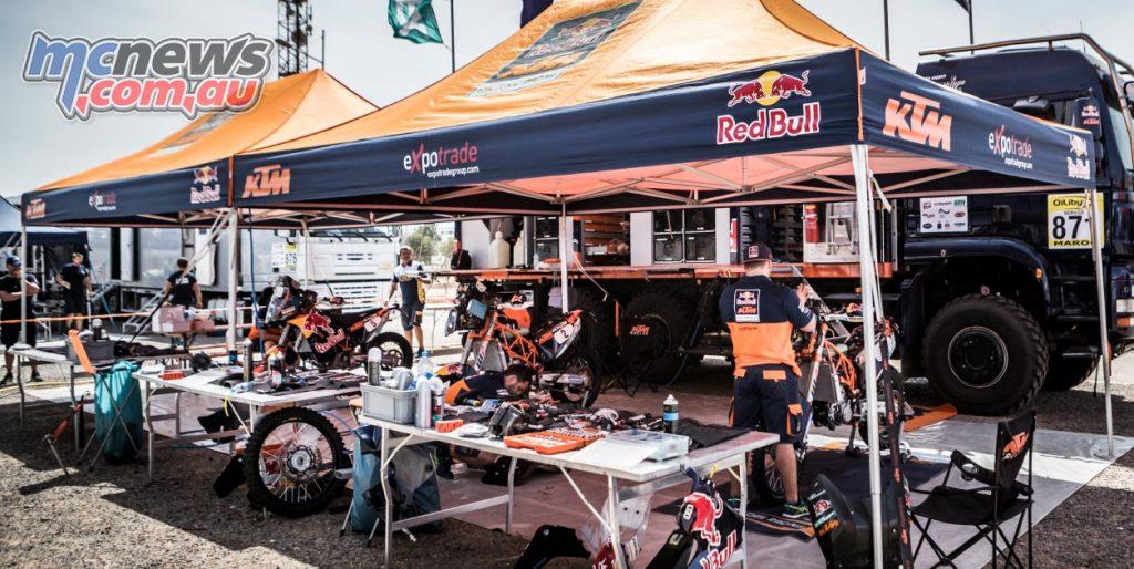 Morocco Rally 2016 - KTM Bivouac