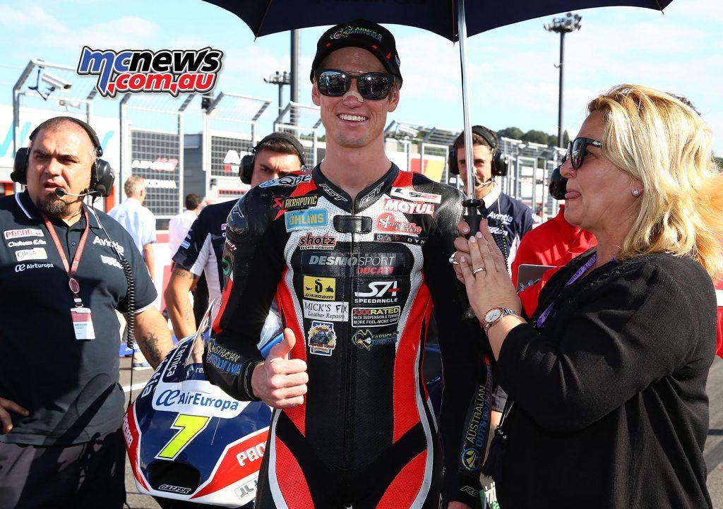 Mike Jones - Motegi - MotoGP - Image by AJRN