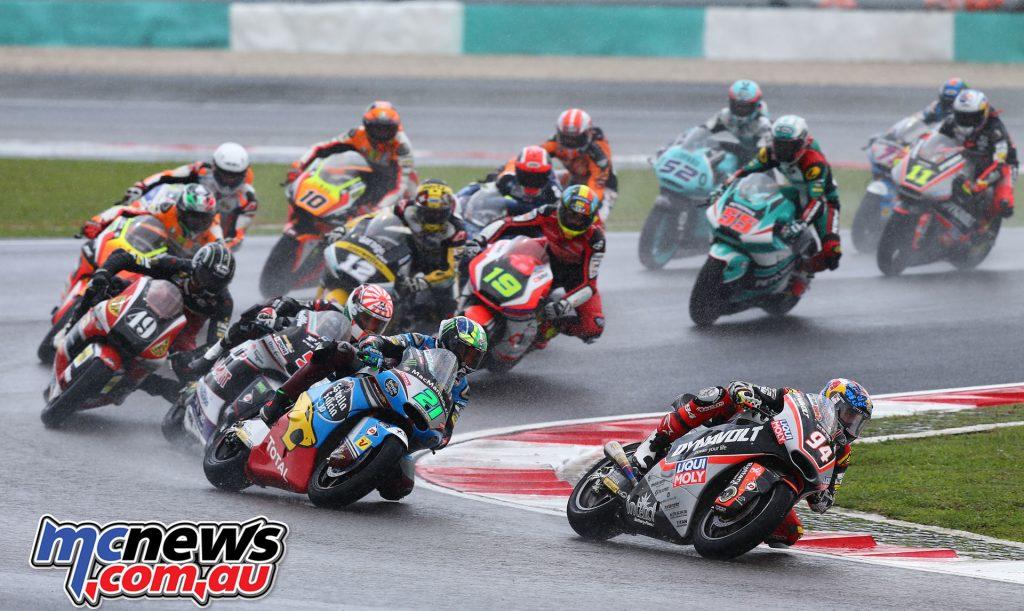 Moto2 - Folger leads pack - MotoGP 2016 Sepang
