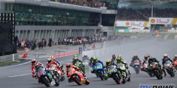 MotoGP race start - 2016 Sepang