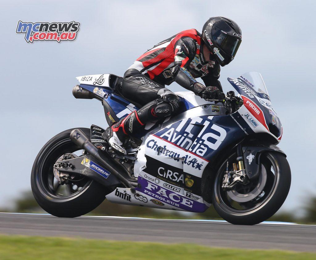 Phillip Island MotoGP - Avintia Ducati - Mike Jones - Image by AJRN