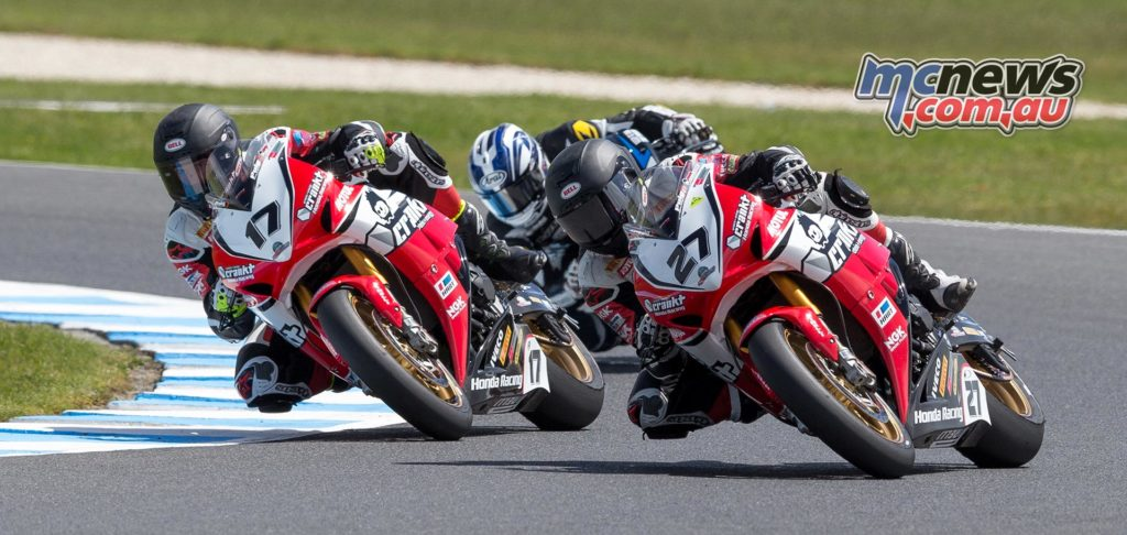 MotoGP Support Races - Australian Superbike - Stauffer, Herfoss, Waters - Image by Andrew Gosling