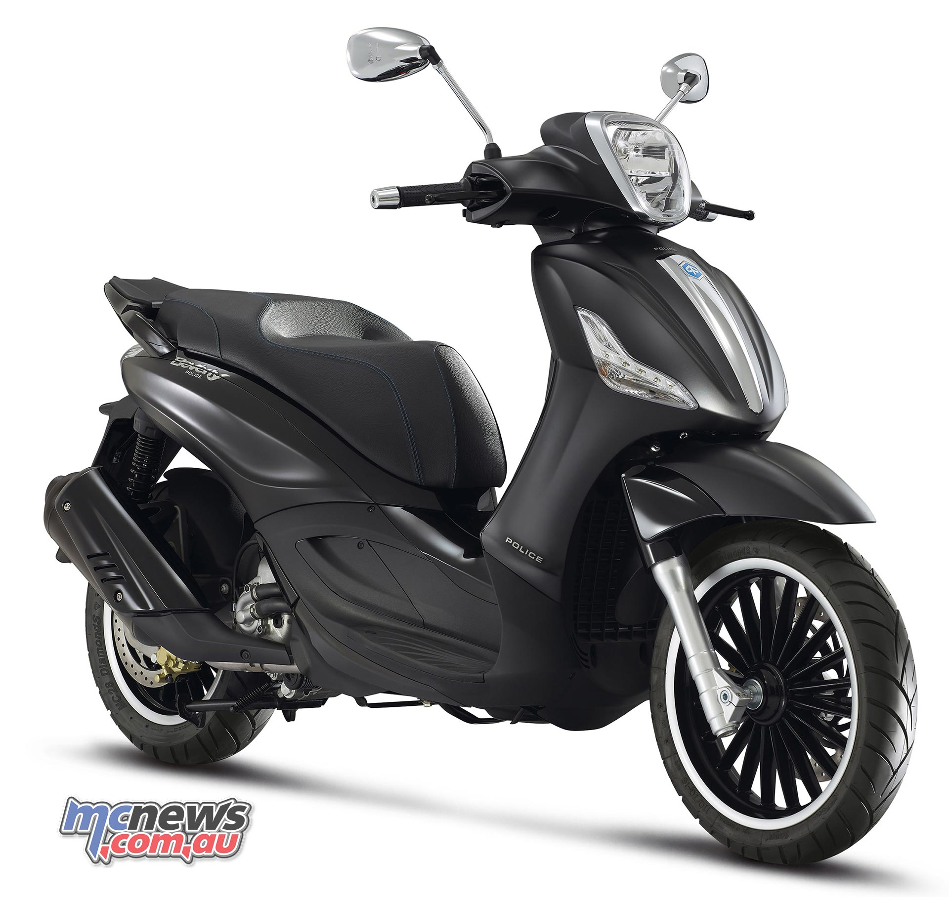 Piaggio Beverley By Police