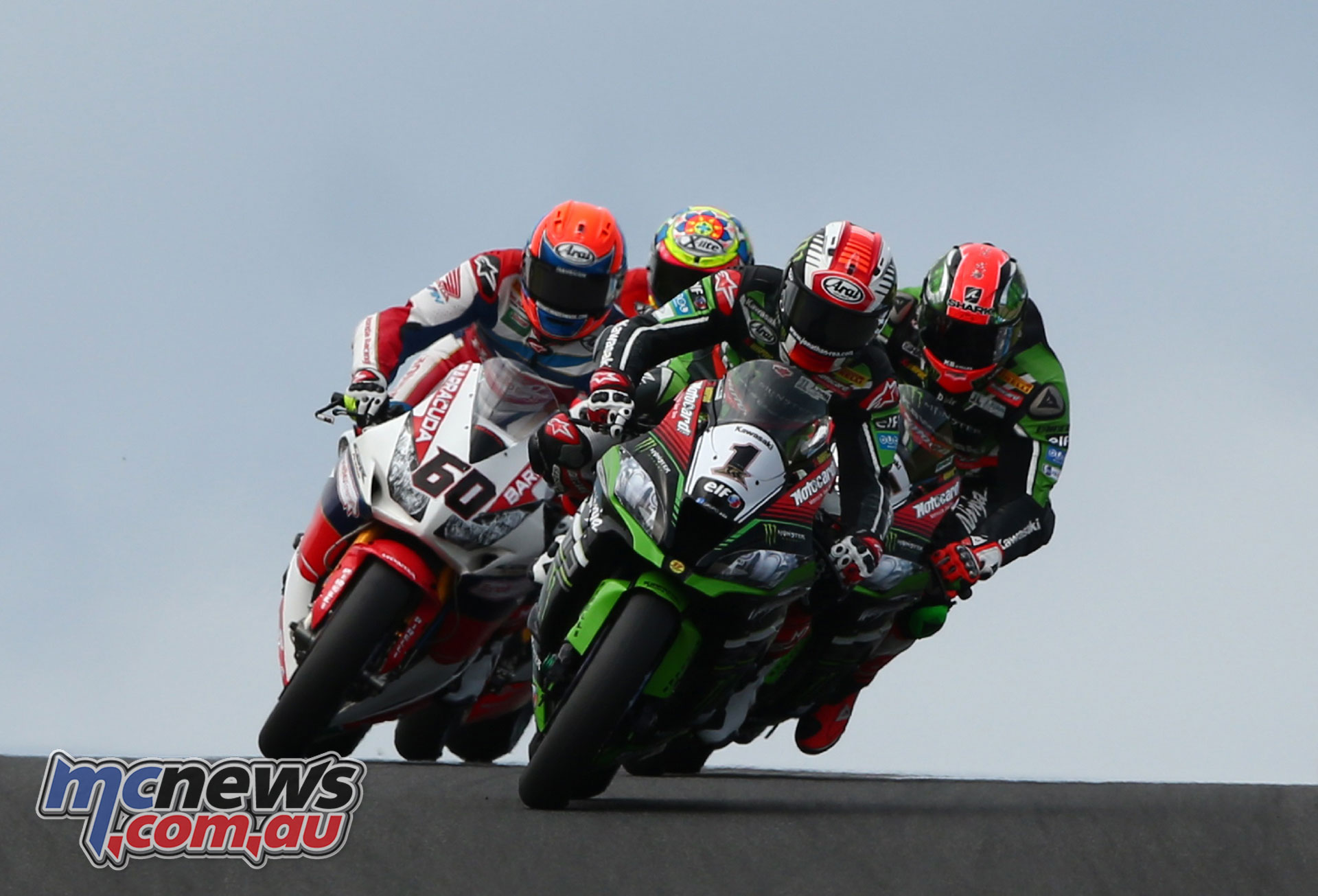 Action from Phillip Island WSBK.