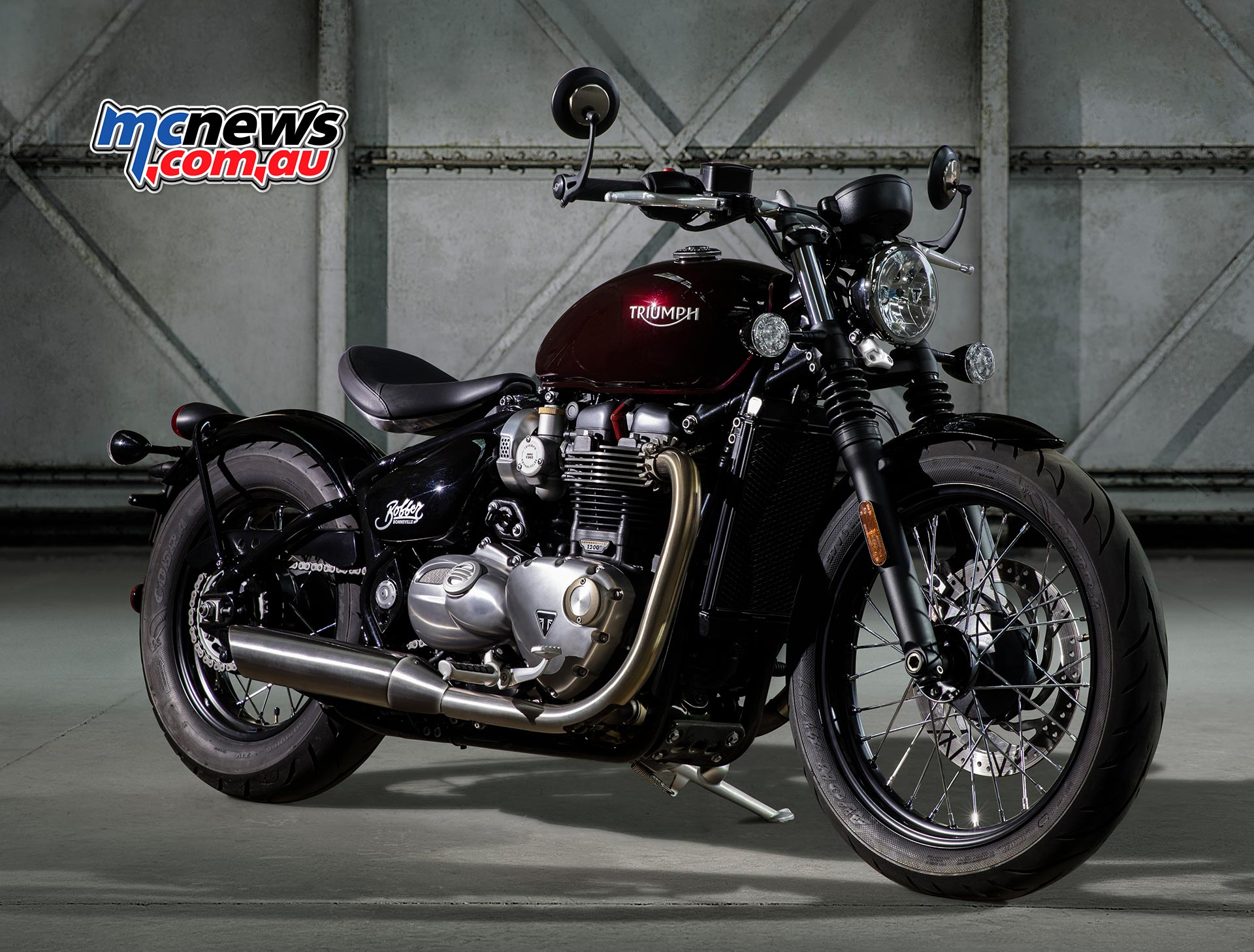 If there was ever any doubt that Triumph is gunning for some of the huge market share occupied by Harley-Davidson the new Bonneville Bobber certainly puts paid to that.