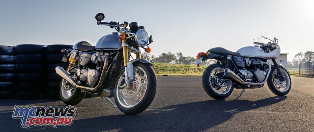 Triumph Thruxton and Thruxton R