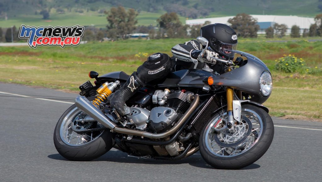 Triumph Thruxton R is certainly sporting enough for most
