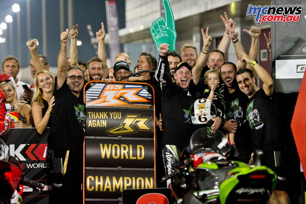 WSBK 2016 Qatar - Jonathan Rea - WorldSBK Champion