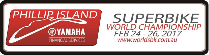 Phillip Island WorldSBK 2017 - Sponsored by Yamaha Financial Services