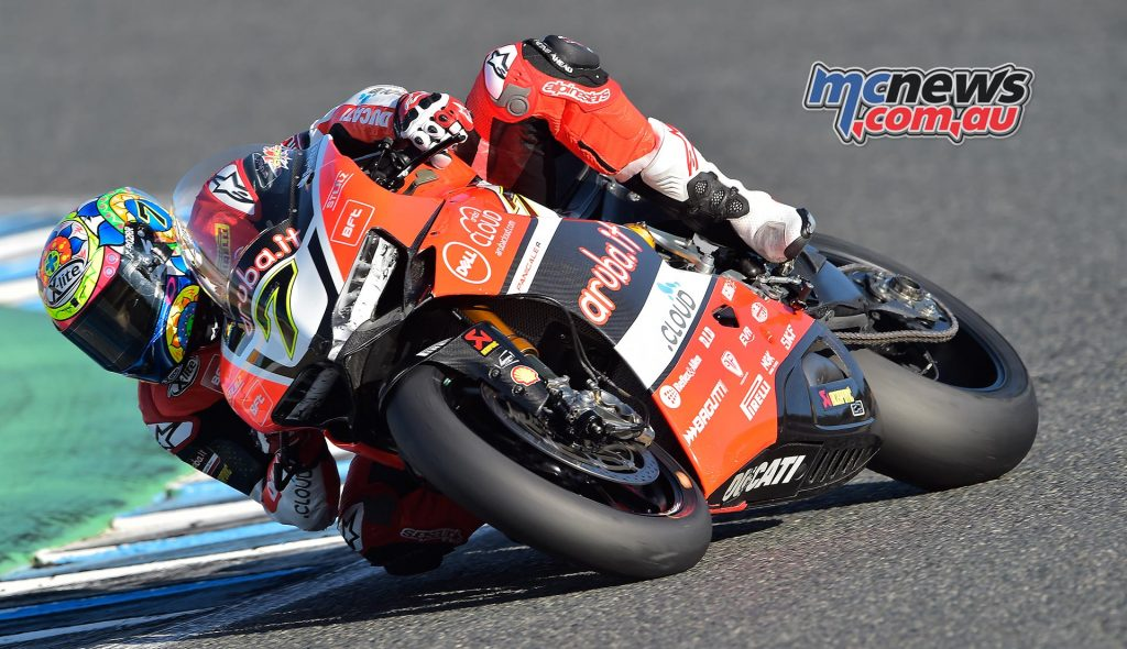 Chaz Davies has taken two doubles in a row at Jerez and Magny-Cours and is 19-points in arrears of Sykes.