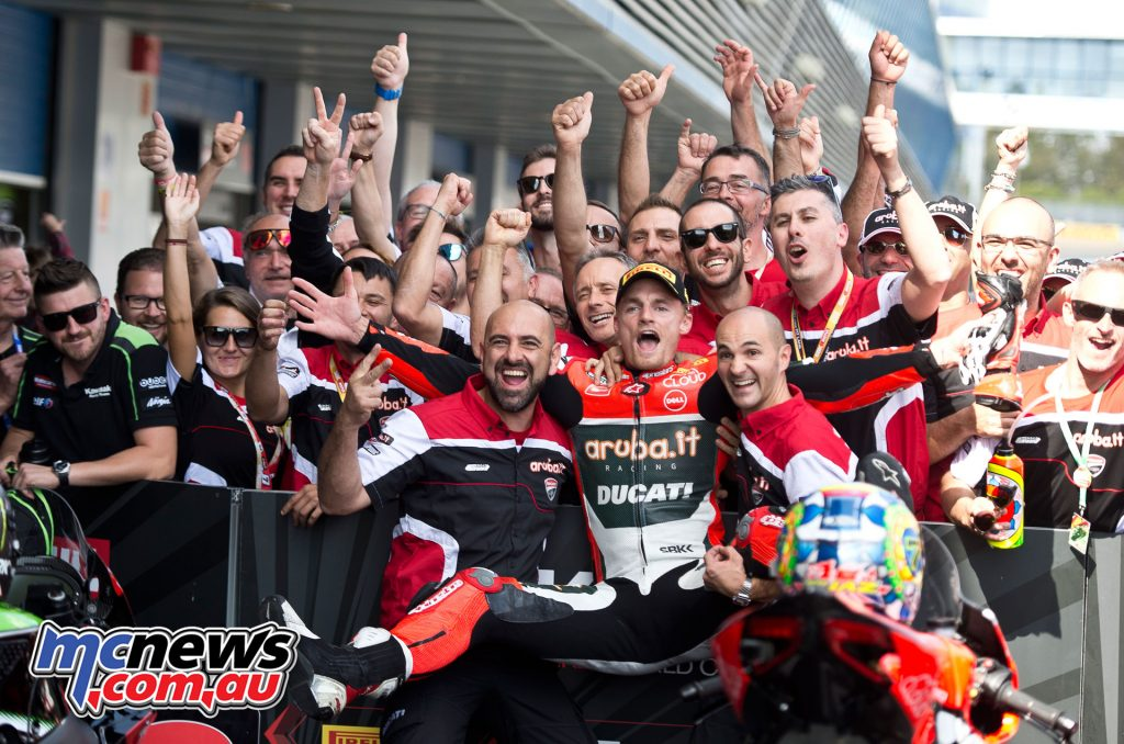 Chaz Davies takes the double win in Jerez - Image by Geebee Images