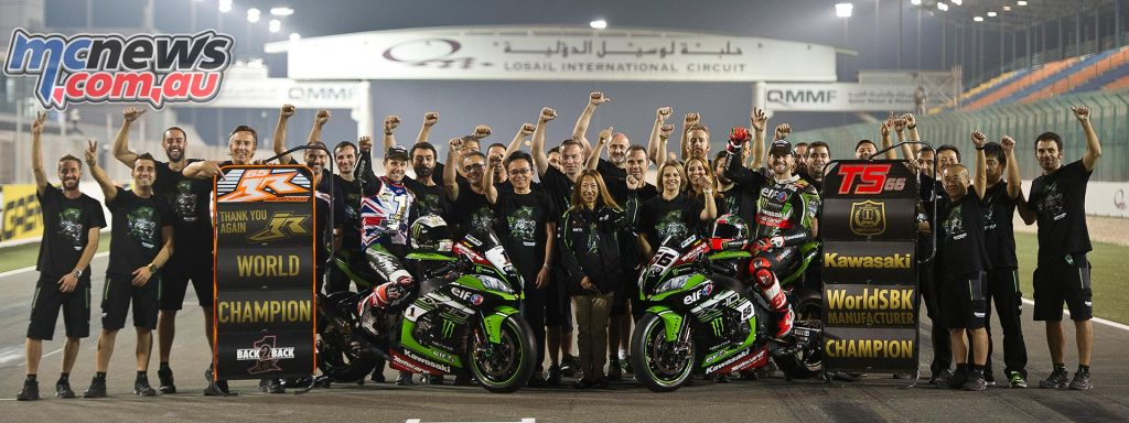 WorldSBK 2016 Qatar - Awards Kawasaki
