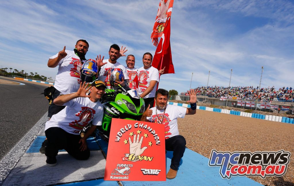 Kenan Sofuoglu - 2016 World Supersport Champion - Jerez