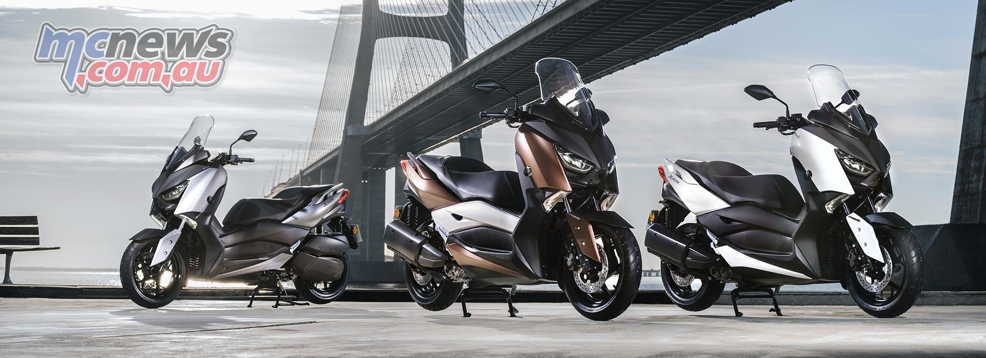 2017 Yamaha X-Max 300   New big scoot from Yamaha   MCNews