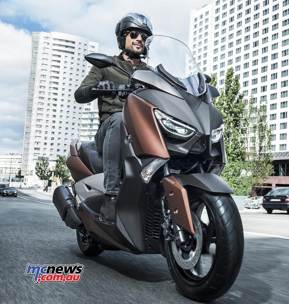 2017 Yamaha X-Max 300, Quasar Bronze