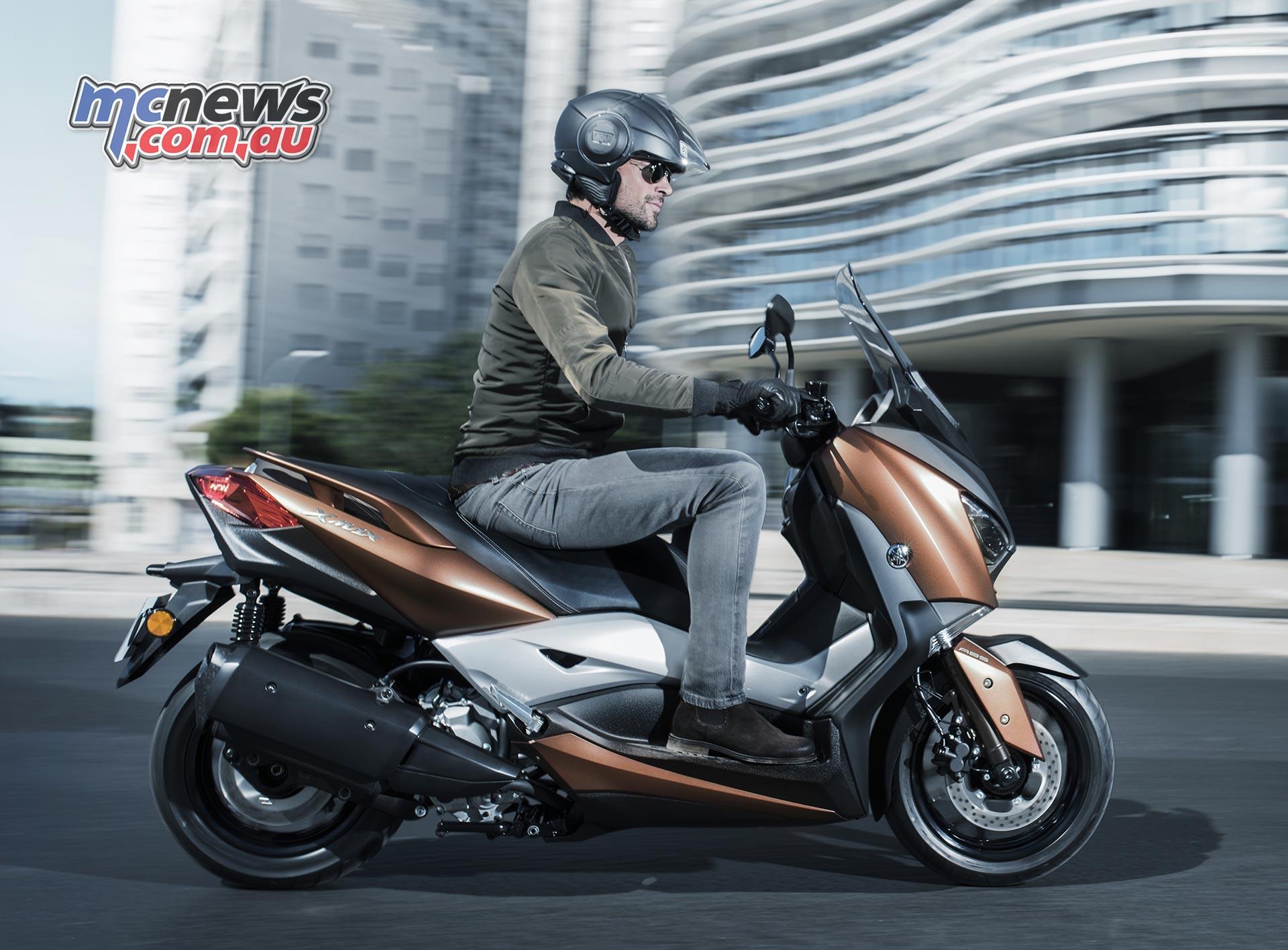 2017 Yamaha X-Max 300   New big scoot from Yamaha   MCNews com au