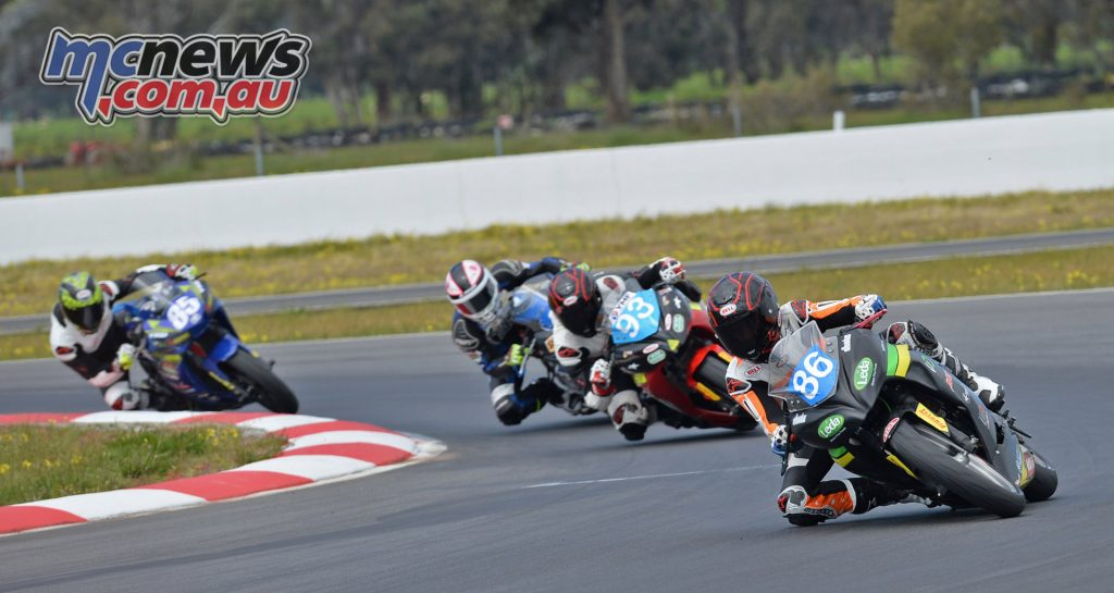 Oli Bayliss, Cube Racing, 2016 ASBK Up To 300cc Production at Winton - Image by Russell Colvin