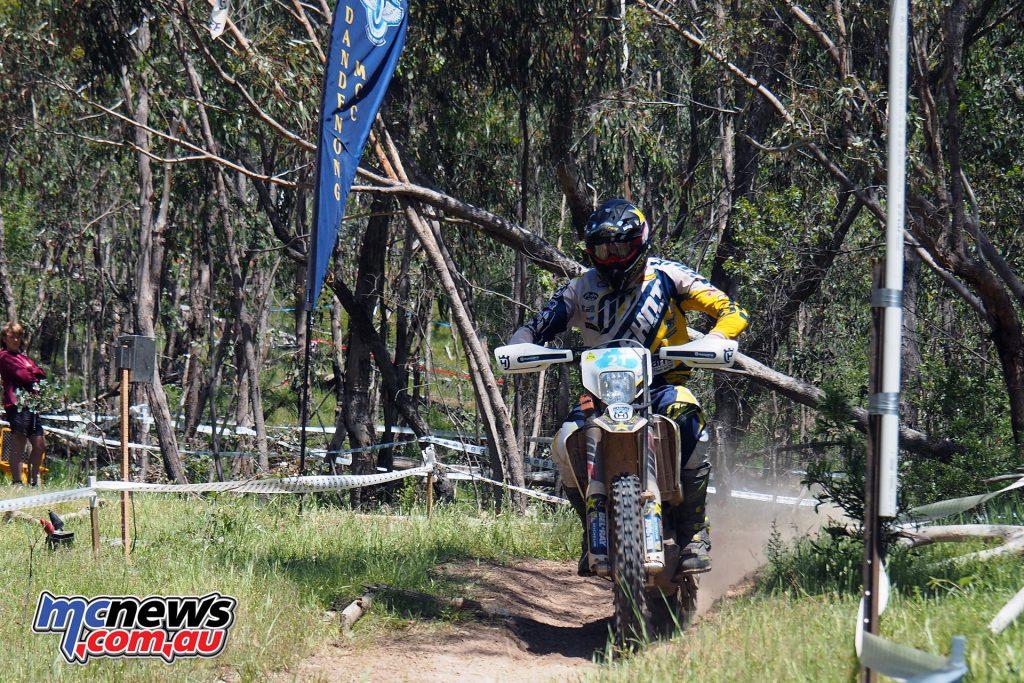 Mathias Bellino (Husqvarna) Day Two of 2016 Yamaha Australian Four Days - Image courtesy of T. Spragg