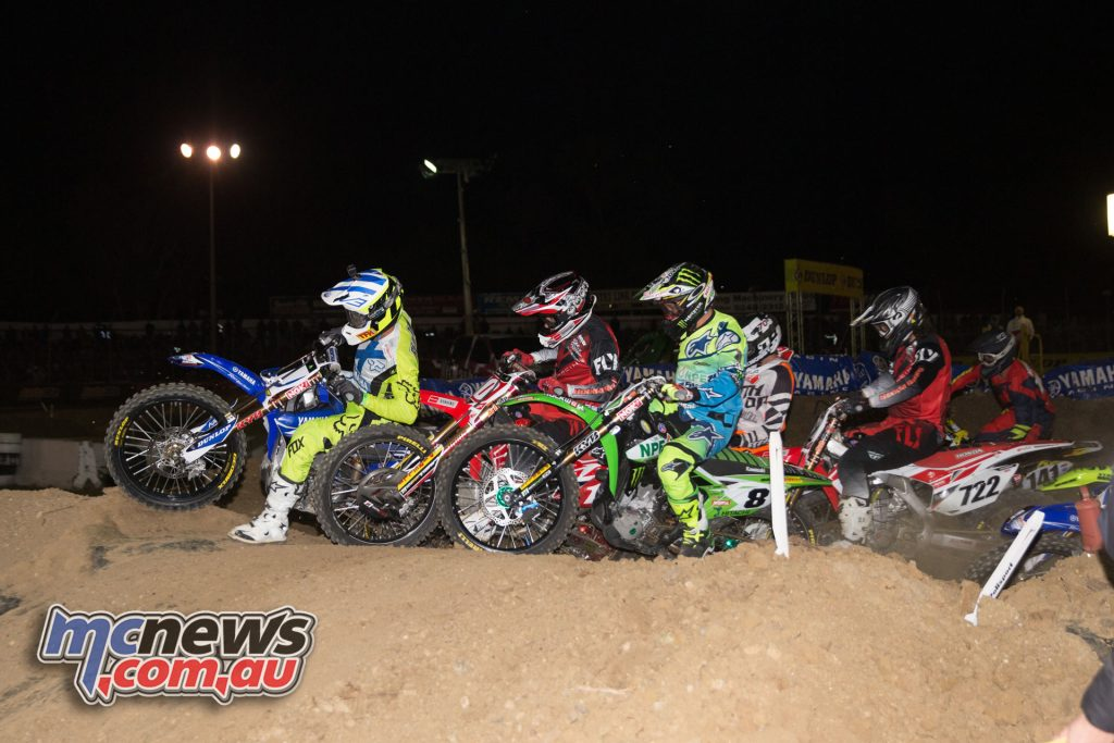 Dan Reardon takes the MX1 holeshot