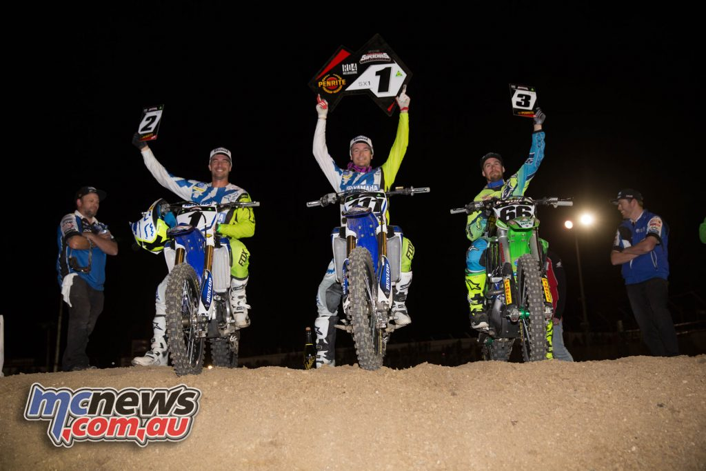 Avalon - 2016 ASX- MX1 Podium