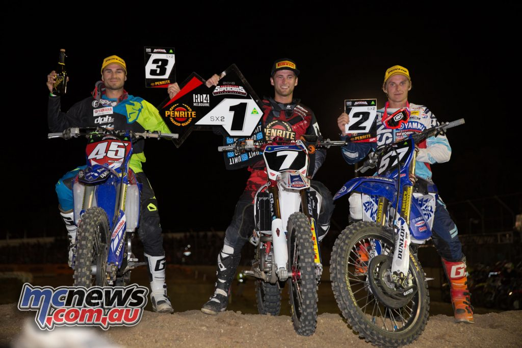 Avalon - 2016 ASX- MX2 Podium