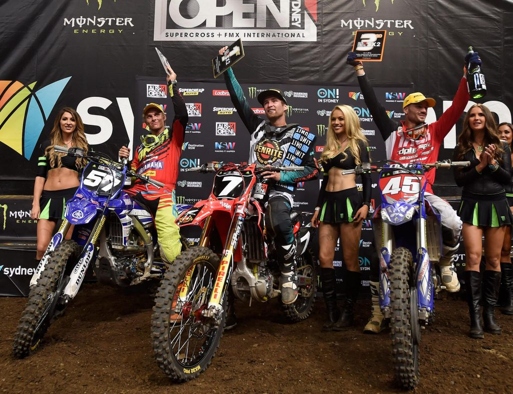 Richardson wins the SX2 Championship