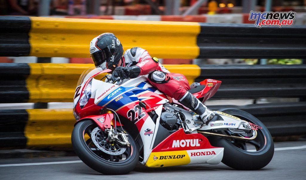 2016 Macau Motorcycle GP - Connor Cummins