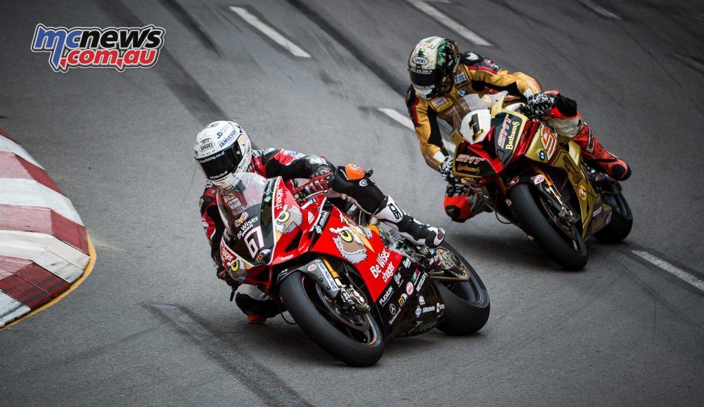 2016 Macau Motorcycle GP - Glenn Irwin, Peter Hickman