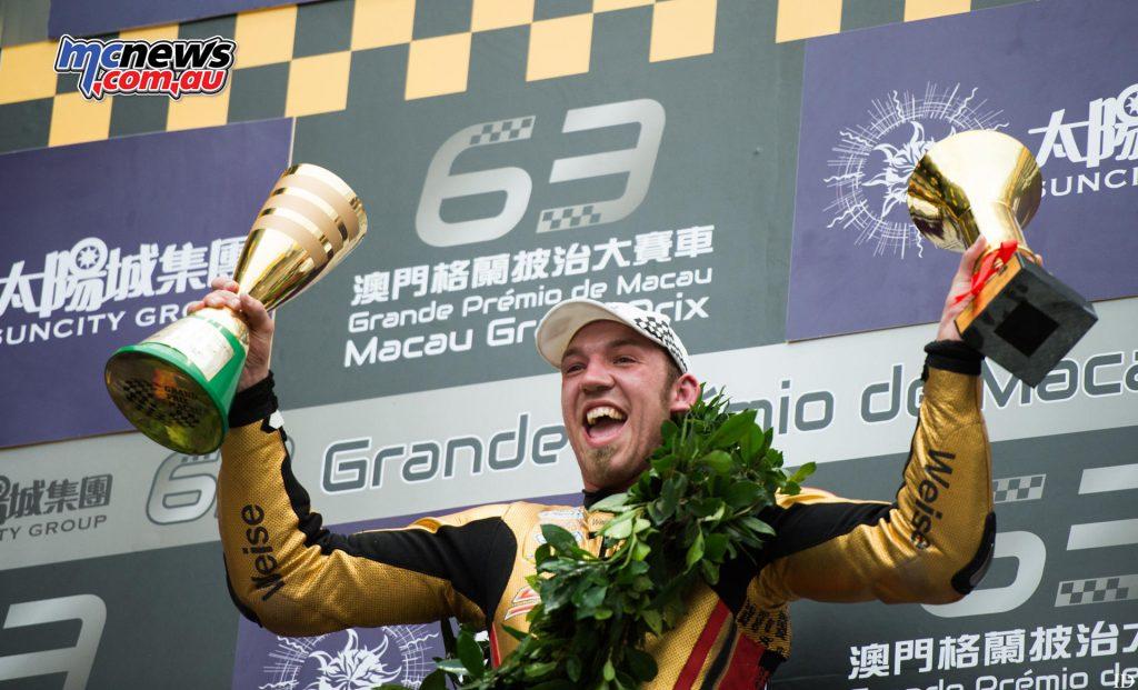 2016 Macau Motorcycle GP - Peter Hickman