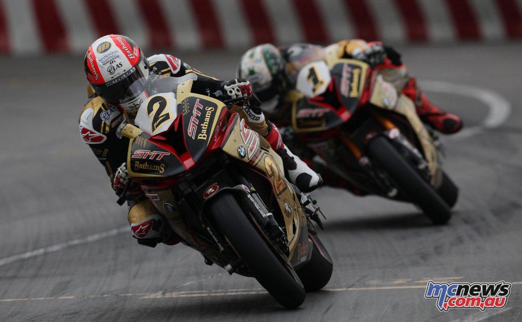 2016 Macau Motorcycle GP - Michael Rutter, Peter Hickman