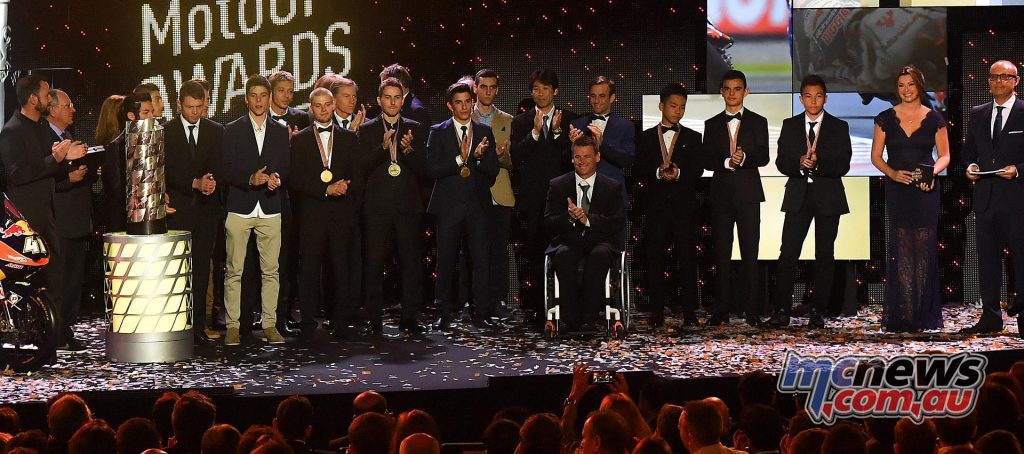 FIM Awards Ceremony closes the MotoGP season