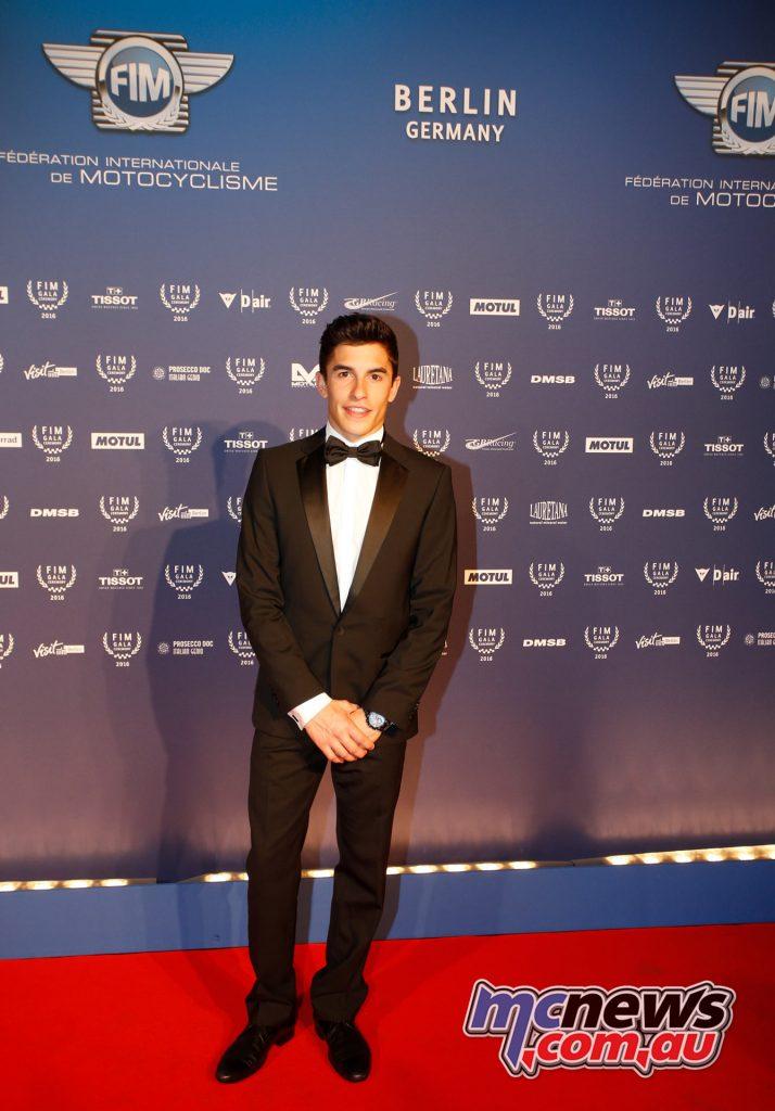 2016 FIM Gala - MotoGP Champion - Marc Marquez