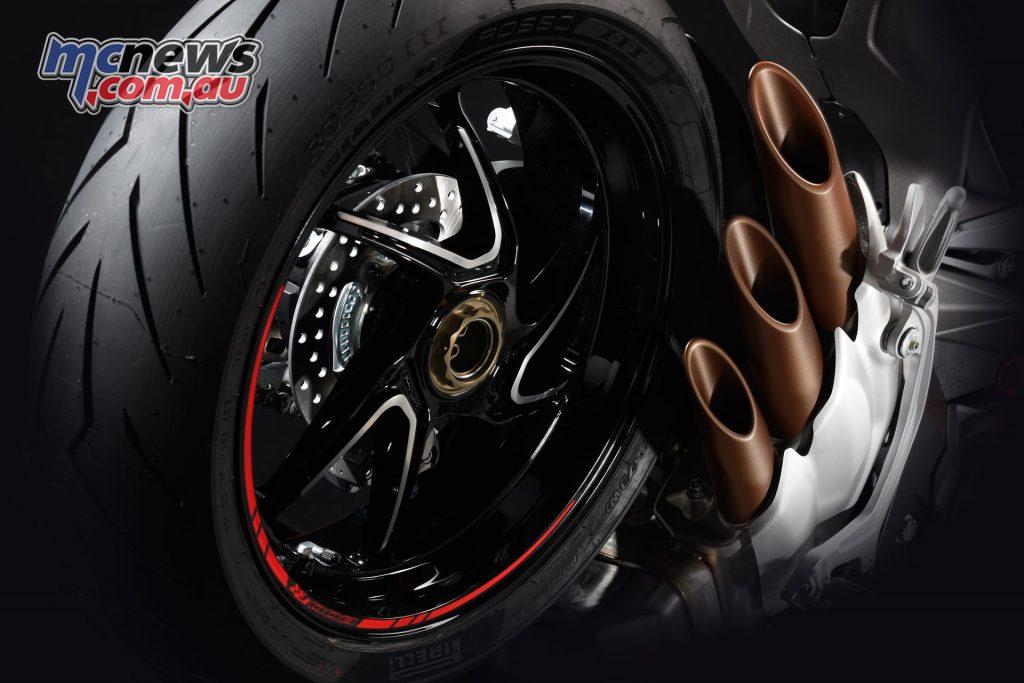 2017 MV Agusta Brutale 800 RR - new forged wheels