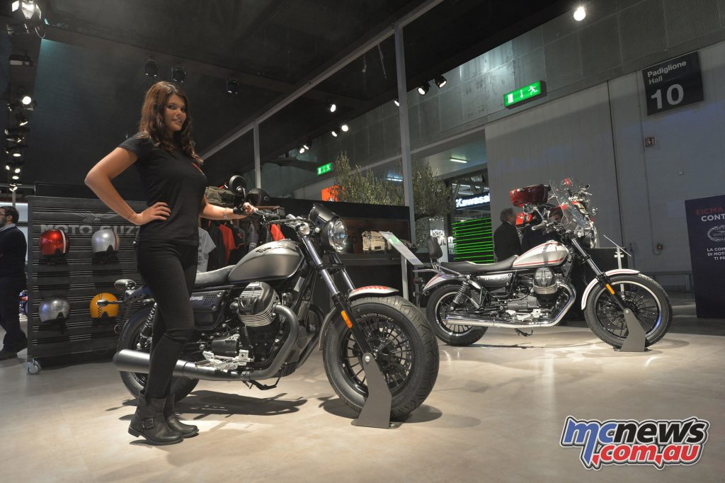 2017 Moto Guzzi V9 Bobber & V9 Roamer - EICMA 2016