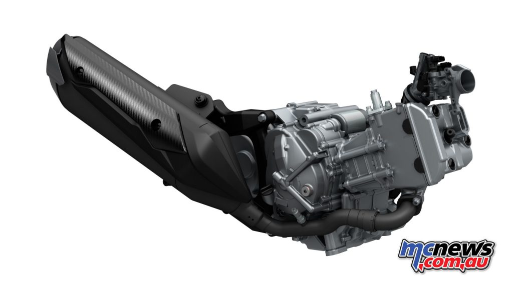 2017 Suzuki Burgman 400 - 399cc single-cylinder DOHC engine