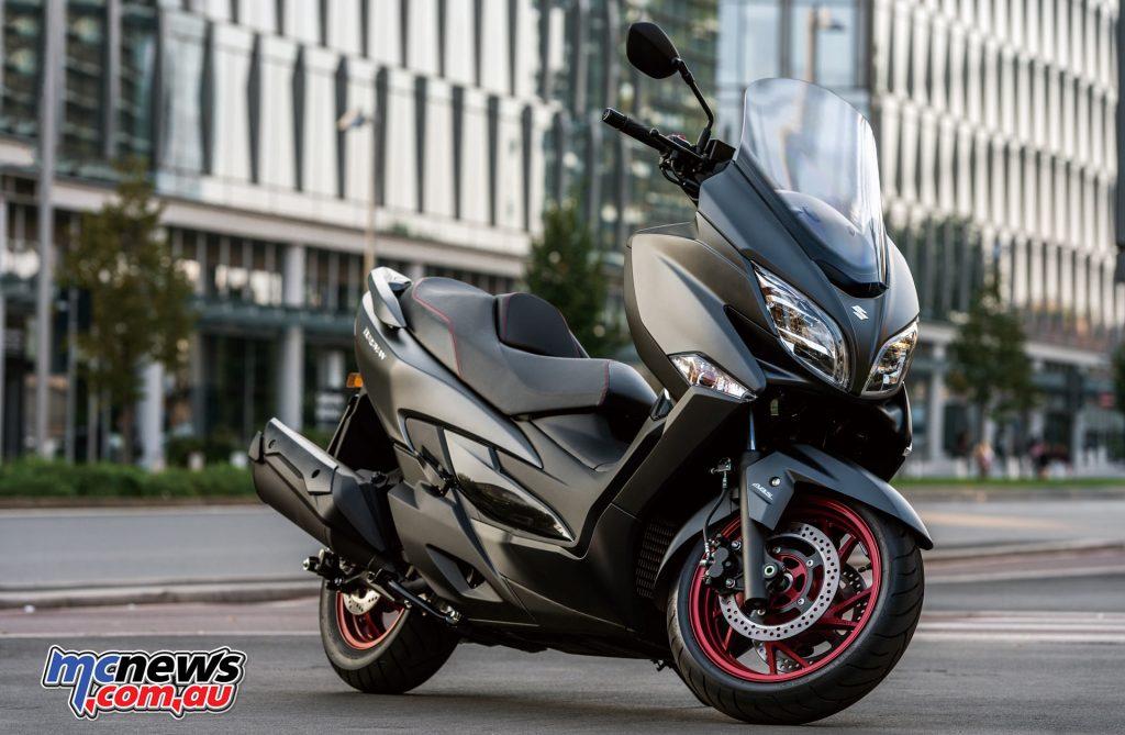 2017 Suzuki Burgman 400