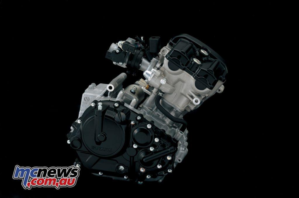 2017 Suzuki GSX-S125 - 4-stroke, 1-cylinder, liquid-cooled, DOHC engine