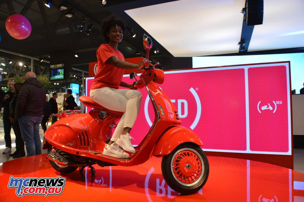 2017 Vespa 946 RED - EICMA 2016