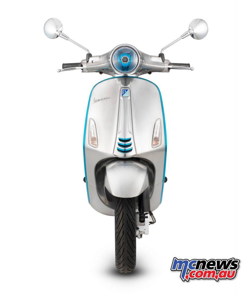 2017 Vespa Elettrica concept scooter