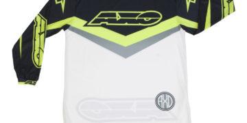 AXO Trans AM Jersey - Black/White/Yellow