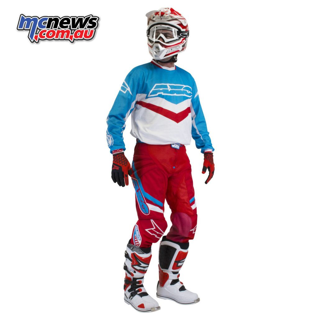 AXO Trans AM Pants & Jersey - Red/Blue/WhiteAXO Trans AM Pants & Jersey - Red/Blue/White