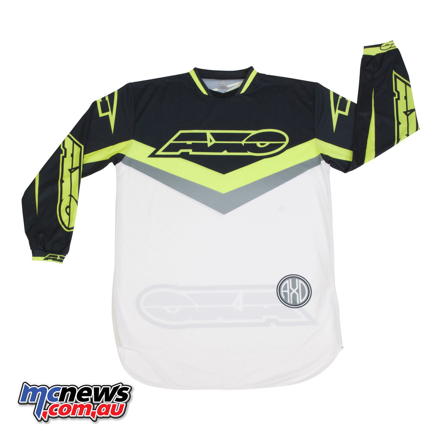 AXO Trans AM Jersey - Black/White/Yellow