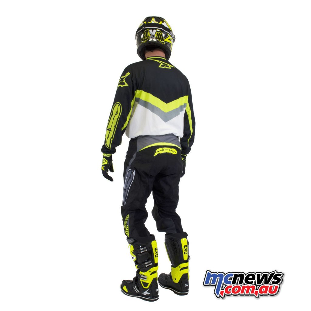 AXO Trans AM Pants & Jersey - Black/White/Yellow
