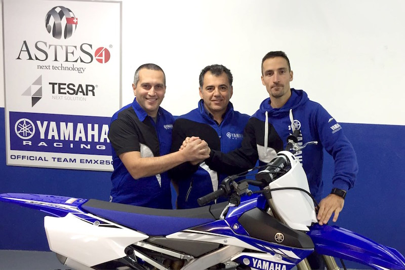 The ASTES4-TESAR Yamaha team