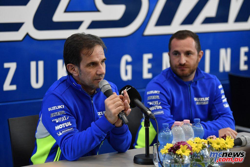 Davide Brivio - Team Suzuki ECSTAR Team Manager