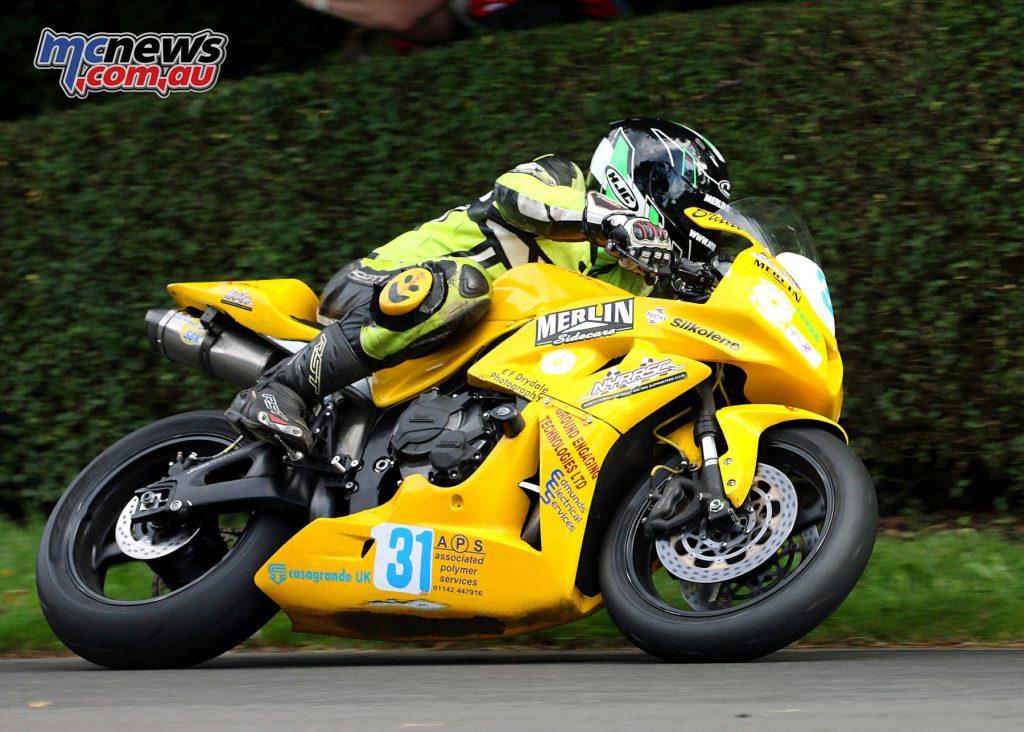Bradley Vicars - 2016 Duke Road Racing Newcomers Award winner