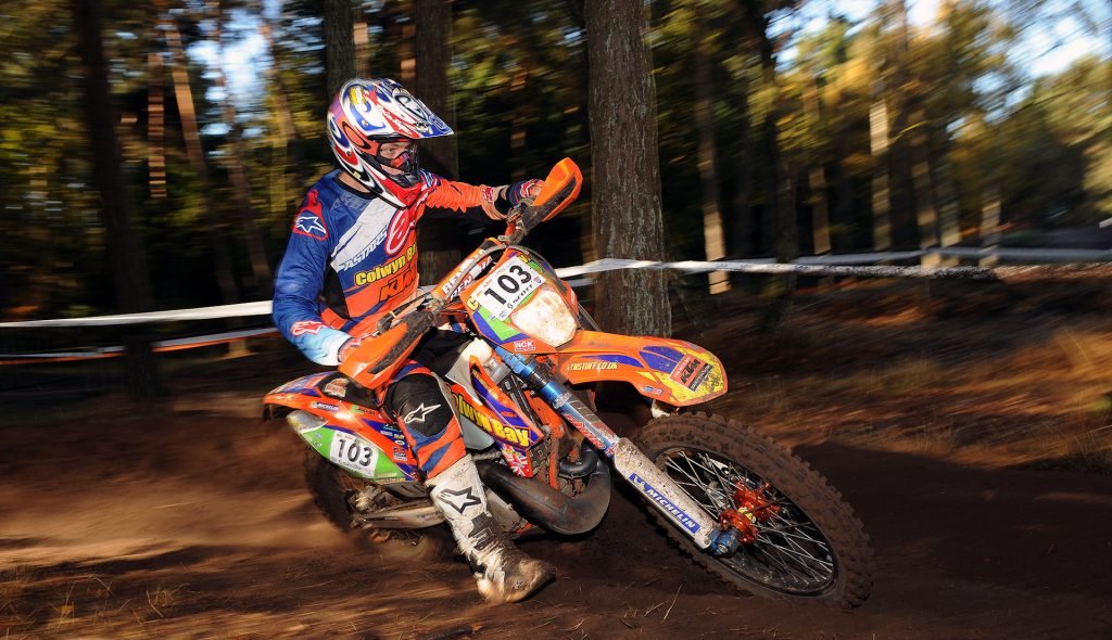 Brad Freeman won the final of the European Enduro Championship in the Netherlands